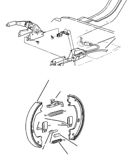 Стояночный тормоз (ручник) ГАЗ Volga Siber седан, 2.4 (EDZ