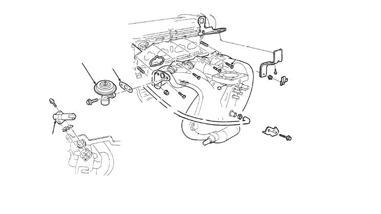 Система рециркуляции отработанных газов (EGR) Ford Focus